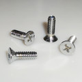 1968-77 Corvette T-Top Wedge Pin Plate Screws