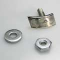 1956-61 Corvette Cove Molding Retainers, Nuts, and Washers