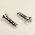 1958-62 Corvette Rear Upper Stainless Door Window Trim Screws
