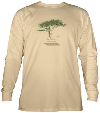 Men's Organic Cotton Long Sleeve Tree Designs