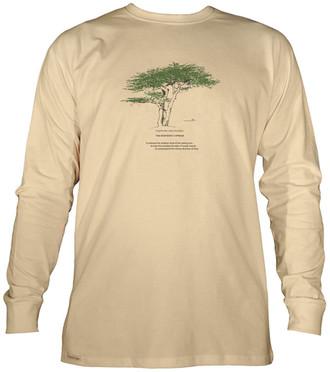 Men's Organic Cotton Long Sleeve Tree Designs