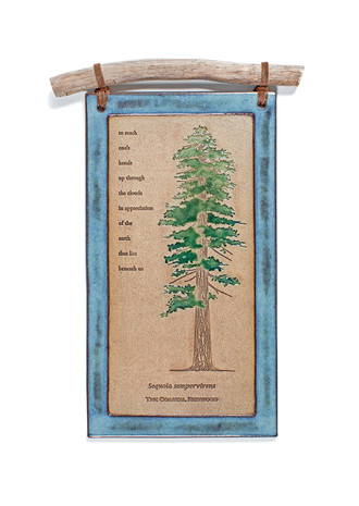 Ancient Tree Clay Wall Hangings