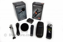 Zoom H1 Ultra Portable Audio Recorder with Accessory Kit