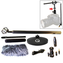 QUE AUDIO Sniper Mic Kit Free Headworn Mic Included KIT