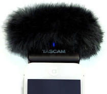 Tascam iM2 iPhone Microphone with Wind Muff