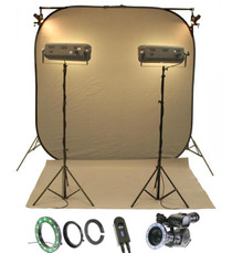 Reflecmedia Chromaflex All-In-One Kit with Small Dual LiteRing (RM7221DS)