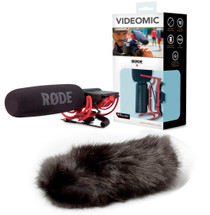 RODE VideoMic Rycote with Black Windshield