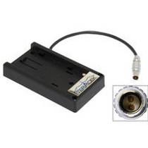 Teradek Battery Adapter Plate for Panasonic VW-VBG6 or CGA-E/625 Battery