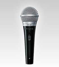 Shure PG48-LC Handheld Vocal Microphone