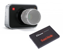 Blackmagic Cinema Camera EF Mount with SanDisk Extreme 240G SSD