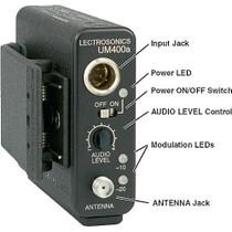 Lectrosonics UM400A UHF Beltpack Transmitter - Frequency Block 23