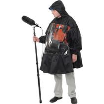Petrol Deca Sound Man Rain Poncho - Black