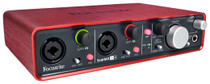 Focusrite Scarlett 2i4 Portable USB Audio Interface