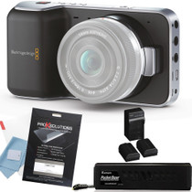 Blackmagic Pocket Cinema Camera w/ PocketBase Kit + Screen Protector