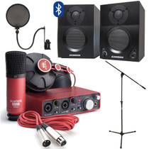 Focusrite Scarlett Studio w/ Home Recording Kit