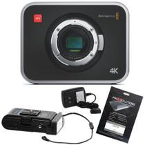 Blackmagic Design Production Camera 4K with Switronix PowerPack