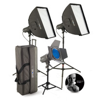 Westcott Strobelite PLUS 3-Light Softbox Kit