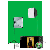 Westcott Illusions uLite Green Screen Photo Lighting Kit - Lite