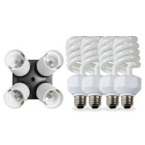Westcott Daylight Fluorescent 4-Socket Adapter Kit