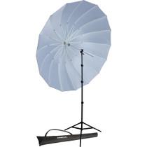 Westcott 7' Parabolic Umbrella with 8' Stand Promo Kit