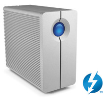 LaCie 12TB 2big Thunderbolt Series 2-Bay RAID HD with CBL