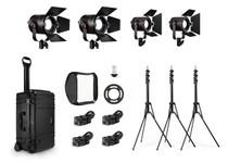 Fiilex K412 Lighting Kit (2x-P360EX, 2x-P180E)