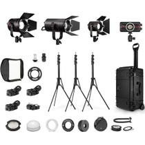 Fiilex K416 P360EX, P180E, P200, P100 4-Light Travel Kit