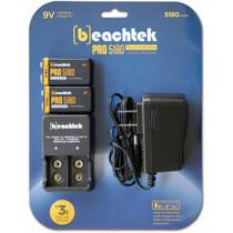 Beachtek PRO5180 Rechargeable 9V Battery Kit
