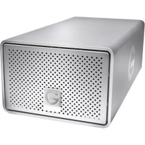 G-Tech 12TB Gen 7 G-RAID with Two Removable 6TB 7200 RPM Hard Drives up to 300MB/s Transfer Speeds