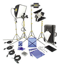 Lowel Dvcreator Kit 44 (with hard case and lamps) by Lowel