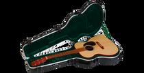 SKB-1SKB-000 000 Size Acoustic Shaped Hardshell - TSA Latch, Over-Molded Handle