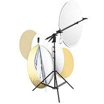 Photoflex Multidisc 42in Reflector with stand