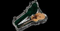 SKB-1SKB-20 Universal Jumbo Acoustic Shaped Hardshell - TSA Latch, Over-Molded Handle