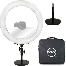 Prismatic Halo Ring Light (25% OFF) with FREE Weighted Light Stand