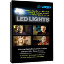 Vortex Media LEDDVD How to Set up and Shoot Awesome Interviews with LED Lights