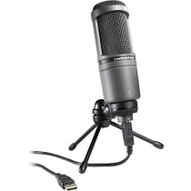 Audio Technica AT2020USB Condenser Microphone