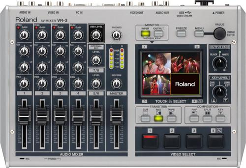 Roland VR-3 3-Channel Video Switcher