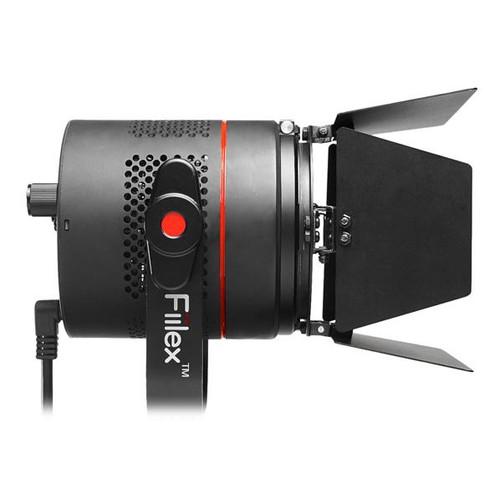 Fiilex P360 LED Light Side With Barn Doors