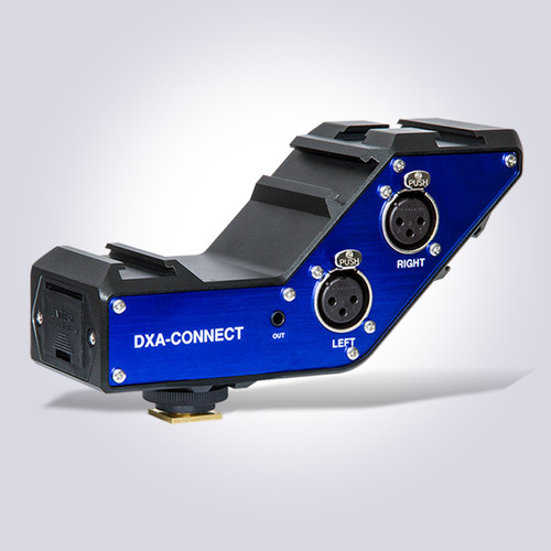 Beachtek DXA-CONNECT XLR Adapter / Bracket Combo Inputs