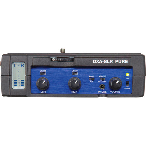 Beachtek DXA-SLR Pure Passive Audio Adapter Front