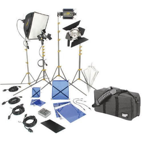 Lowel DVcreator Kit 44 (with soft case and lamps) by Lowel
