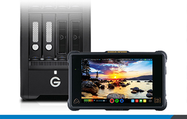 Atomos Partners with G-Technology
