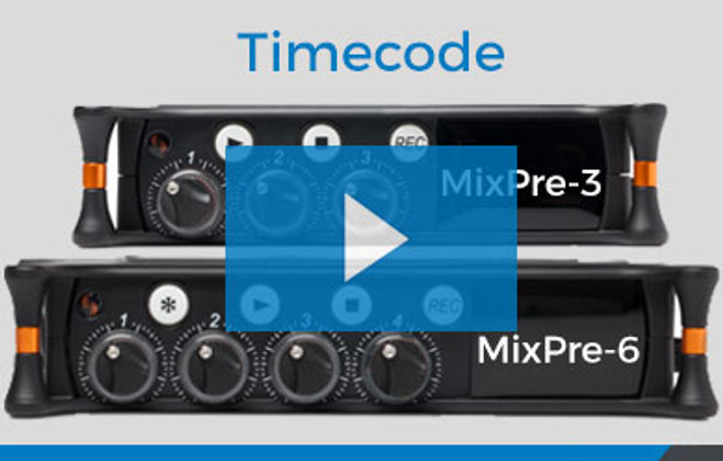 Video: How to use Timecode on the Sound Devices Mixpre-3 and Mixpre-6