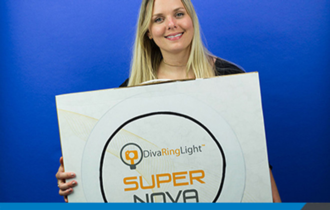 My Weekend Affair with the Diva Ring Light Super Nova