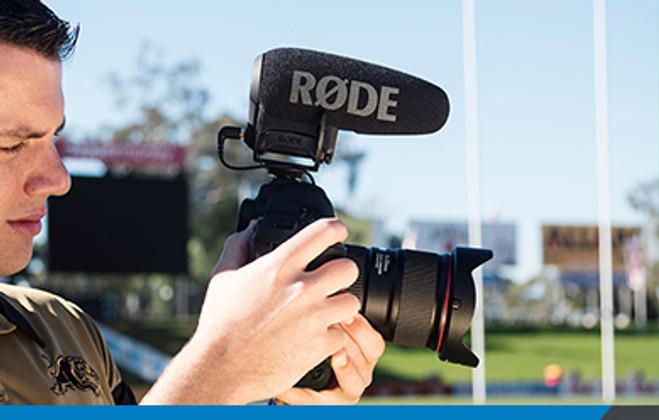 RODE VideoMic Pro+ now shipping