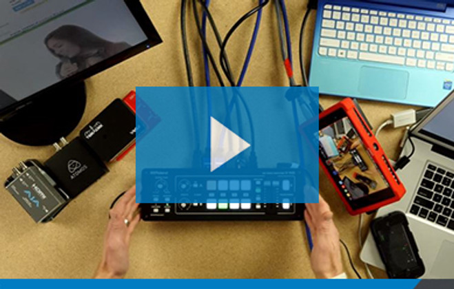 Video: An In-Depth look at the Roland V-1HD Video Switcher