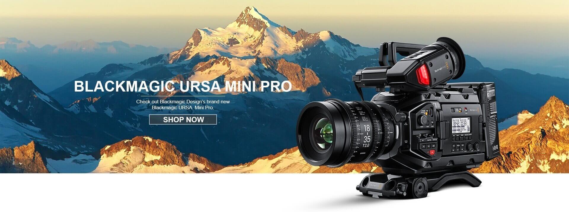 Blackmagic Design URSA Mini Pro