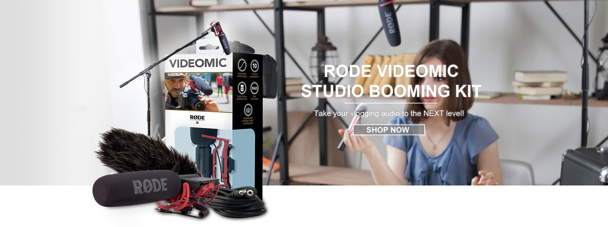 Rode VideoMic Studio Booming Kit