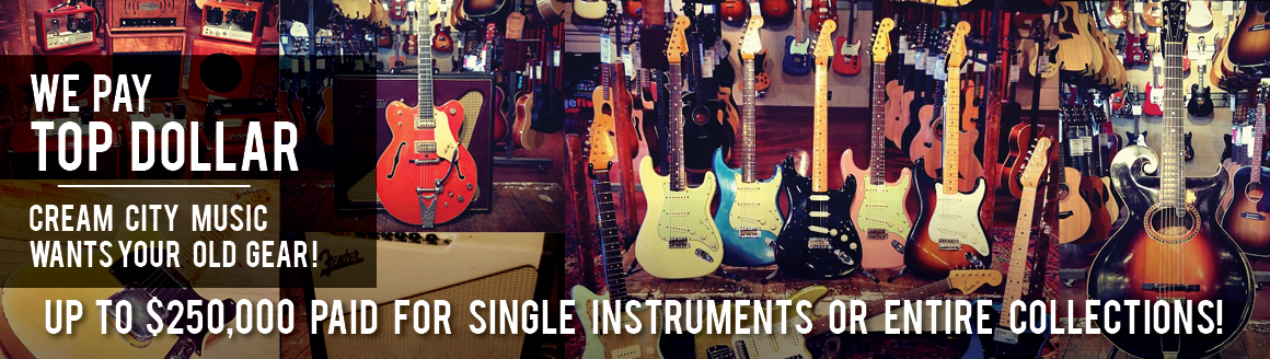 Sell Your Guitar and Gear Banner