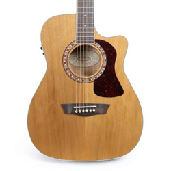 Washburn HF11SCE Heritage Series Acoustic Electric Guitar in Natural